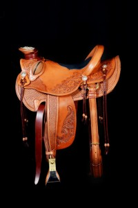 CSMA 20th Anniversary Member Made Saddle